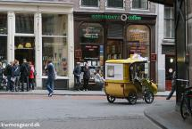Cykeltaxi i Amsterdam